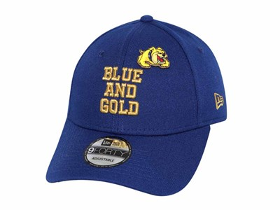 NU Blue and Gold UAAP Cheer Pin Navy 9FORTY Cap