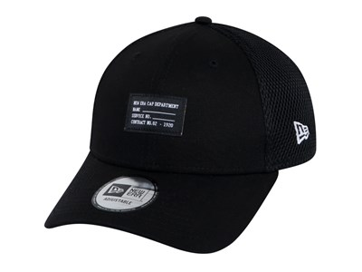 0c54038e New Era Military Trucker Mesh Black 9FORTY Cap ...