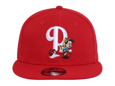 Pinocchio Disney Scarlet 9FIFTY Cap (ONLINE EXCLUSIVE)