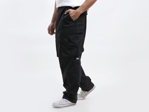 New Era Originators Black Cargo Pants