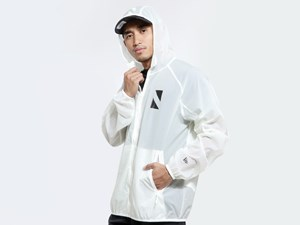 New Era N Triangle NE Tech Packable Off White Jacket (LAST STOCK)