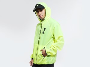 New Era N Triangle NE Tech Packable Cyber Green Jacket