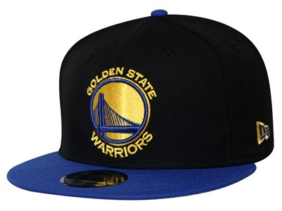 87d6a8af Golden State Warriors NBA Majestic Blue 9FIFTY Cap ...