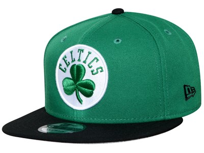 Boston Celtics NBA Black Green Black 9FIFTY Cap