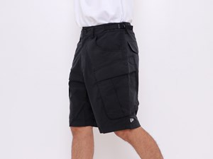 New Era Originators Black Cargo Shorts