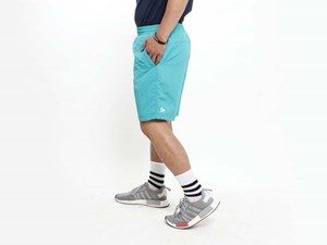 New Era Nylon Turquoise Shorts