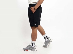 New Era Nylon Black Shorts