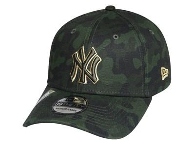 50294dfb1 New York Yankees MLB Armed Forces Weekend 2019 Dark Green 39THIRTY Cap ...