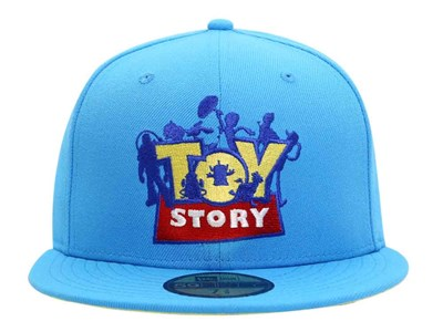 Toy Story 4 Disney Logo Sky Blue 59FIFTY Cap (ONLINE EXCLUSIVE)