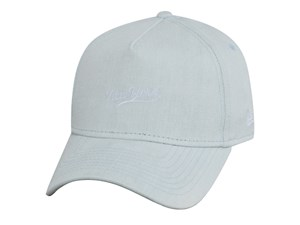 New Era New York  Denim Bleached 9FORTY A-Frame Cap