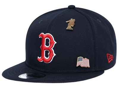 Boston Red Sox MLB Pin Pride Navy 9FIFTY Cap