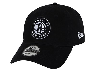 Brooklyn Nets NBA Stock Black 9TWENTY Cap