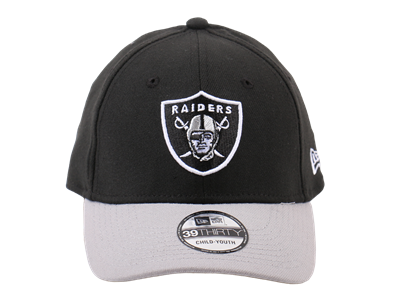 Oakland Raiders NFL Youth 39THIRTY Cap