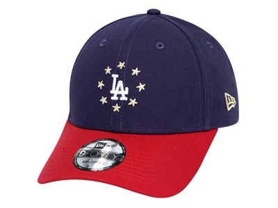 Los Angeles Dodgers MLB Circle Star Navy 9FORTY Cap