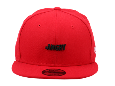 #Angry Emoji Scarlet 9FIFTY Cap