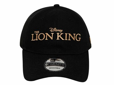 The Lion King Logo Disney Black 9TWENTY Cap