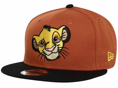 Simba Disney The Lion King Black Brown 9FIFTY Cap