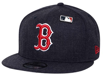 Boston Red Sox MLB Heathered Pin Navy 9FIFTY Cap