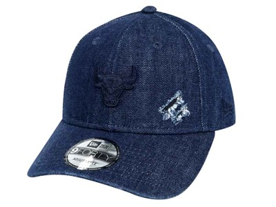 Chicago Bulls NBA Savage Denim Navy 9FORTY Cap