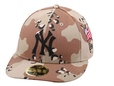 New York Yankees MLB Low Profile Camo 59FIFTY Cap