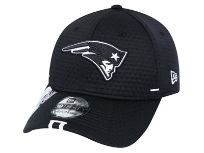 New England Patriots NFL 2019 Training Black 39THIRTY Cap