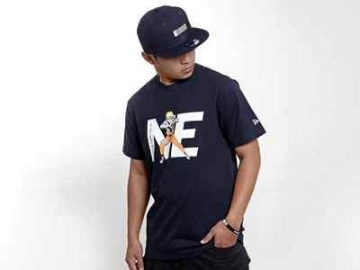 New Era NE Naruto Navy Short Sleeve Shirt