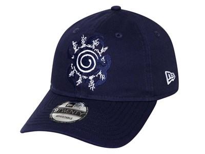 Eight Trigrams Sealing Style Naruto Light Navy 9TWENTY Cap