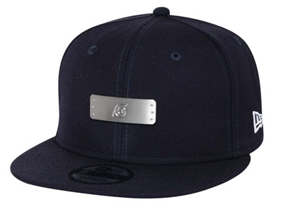 Konoha Hidden Leaf Badge Naruto Navy 9FIFTY Cap