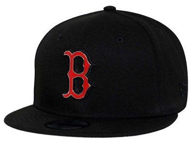 Boston Red Sox MLB Metal Thread Black 9FIFTY Cap