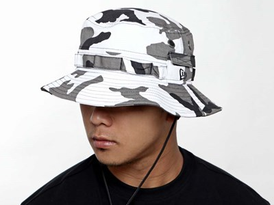 New Era Urban Camo Adventure Bucket Cap