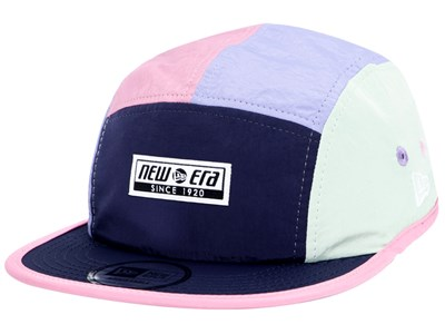 New Era Color Block Navy Purple Pink Green Jet Cap