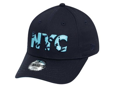 New Era NYC Hide and Seek Navy 9FORTY Youth  Kids Cap