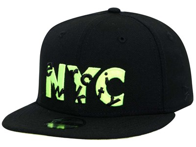 New Era NYC Hide and Seek Black 9FIFTY Youth Kids Cap (LAST STOCK)