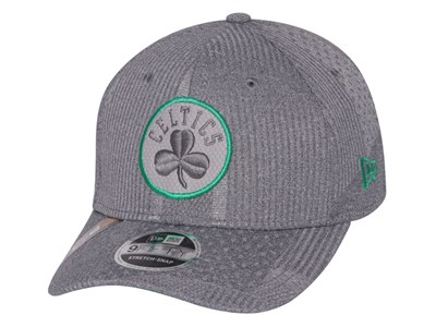 Boston Celtics NBA 2019 Training Series Gray 9FIFTY Stretch Snap Cap
