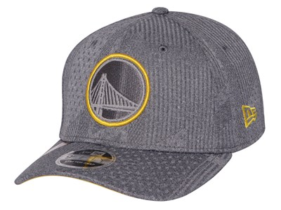Golden State Warriors NBA 2019 Training Series Gray 9FIFTY Stretch Snap Cap