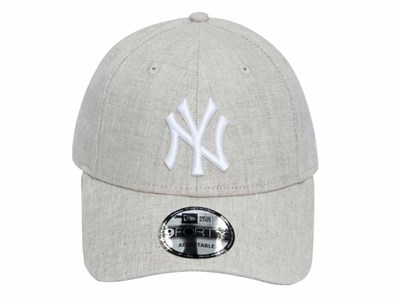 New York Yankees MLB Linen Touch Raw White 9FORTY Cap
