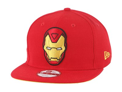 Ironman Marvel Scarlet 9FIFTY Cap