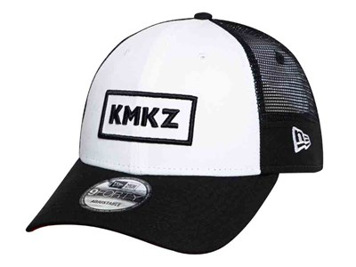 New Era KMKZ Music Kamikazee White Black Trucker Mesh 9FORTY Cap