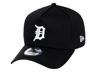 Detroit Tigers NFL Black and Gray 9FORTY A-Frame Cap