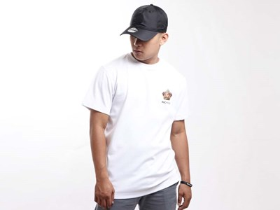 New Era King Crown Short Sleeve White Shirt