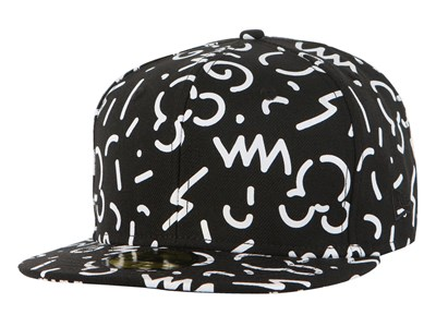 Disney Mickey Mouse 1928 Patterns Black 59FIFTY Cap