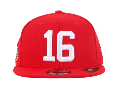 San Francisco 49ers Joe Montana NFL Jersey Number 9FIFTY Cap