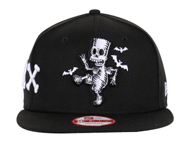 Simpsons Halloween Boo Man Black 9FIFTY Cap