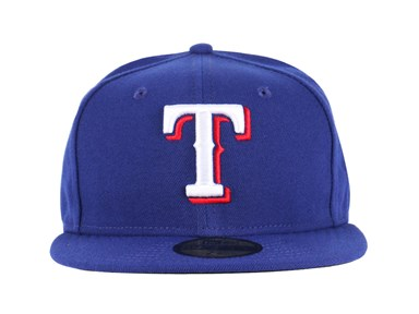Texas Rangers MLB Authentic On-Field Blue 59FIFTY CAP