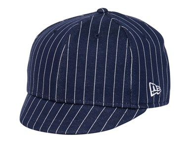 New Era Pinstripe Navy Blue 505 Umpire Cap