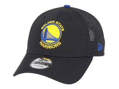 Golden State Warriors NBA Perf Pivot Black 9FORTY Cap