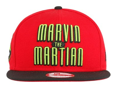 Marvin the Martian Looney Tunes Red Black 9FIFTY Cap