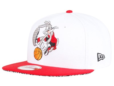 Bugs Bunny Looney Tunes White Red 9FIFTY Cap
