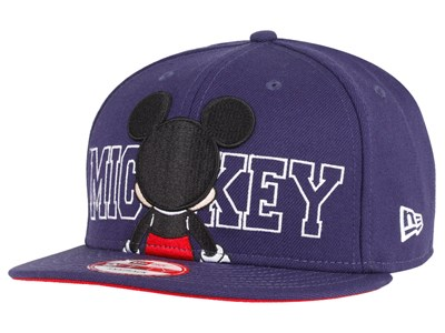 Mickey Mouse Back Disney Blue 9FIFTY Cap