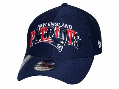 New England Patriots NFL Sideline  Dark Blue 39THIRTY Cap